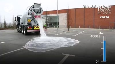 Water draining road technologies (Video)