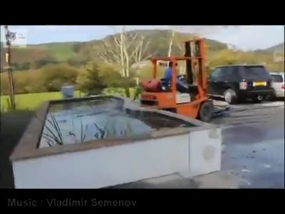 Forklift truck fail compilation (Video)